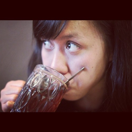 Hot Tea (at Warung Talaga)