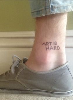 crowcrow:  whitekaffir:my DIY tat is getting some love so thats good, its all healed now too! and i want another but I'm restraining for the sake of my future self ykno'msayin