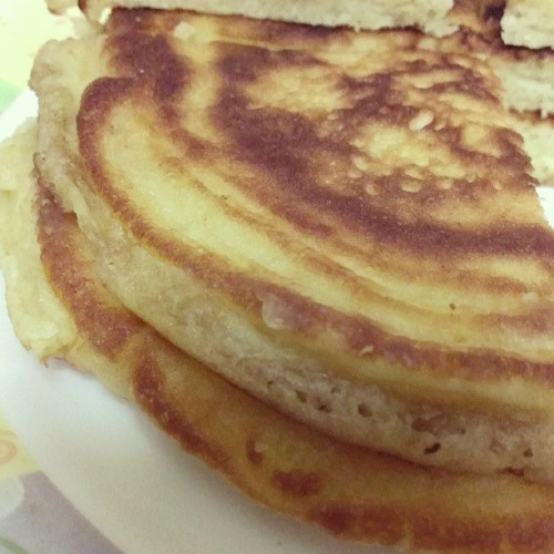 #Pancake for #breakfast. Good morning! :)