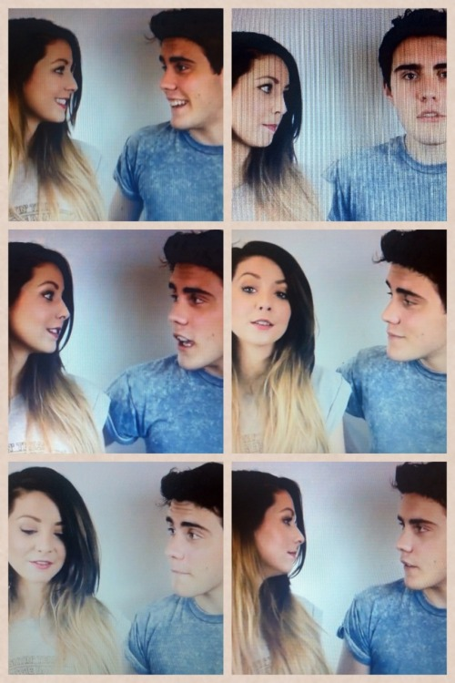 in-finityl0ve:  Some cute zalfie moments on the live stream, excuse the quality