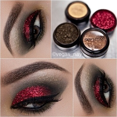 createthislookforless:  Pretty NYE Makeup