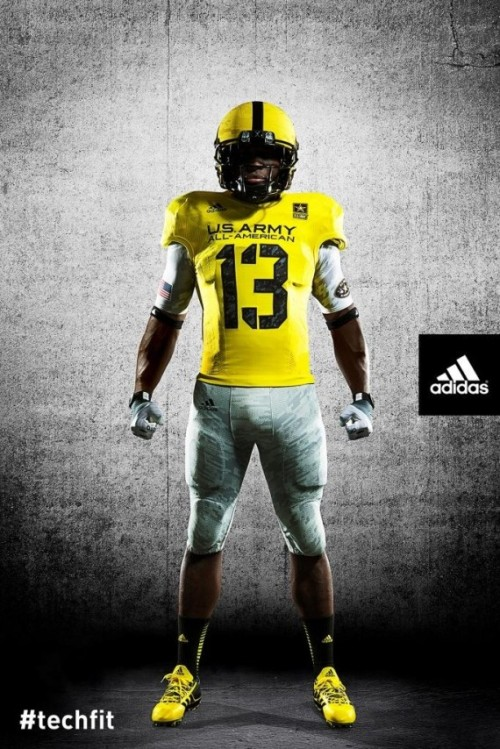 Uniform designs released for US Army All-American Bowl [Photo] For the latest and greatest threads to hit the market, visit Gamedayr Uni Blog.