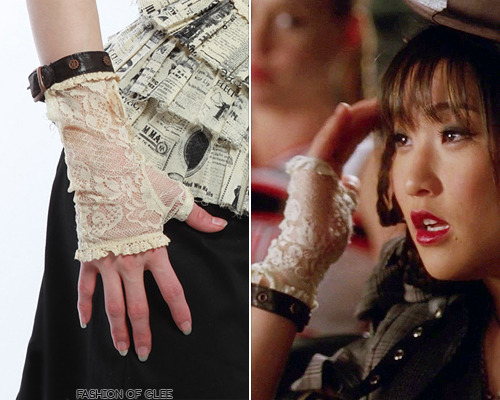 Lip Service Step In Time Tea Stained Lace Gloves - $64.35 Worn with: Heavy Red jacket