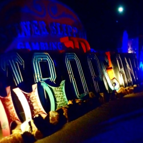 ghosts #neonmuseum #lasvegas #nevada #neonsign #tropicana #silverslipper #thenry3