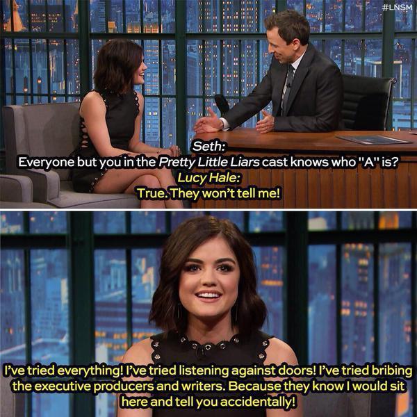 Lucy hale pretty little liars