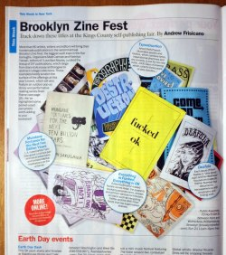 acrosstheyumiverse:  It's not every week my zine gets a shout-out in TIME OUT NEW YORK so I'm going to milk this 5-second fame pony while I can.   Awesome!!!