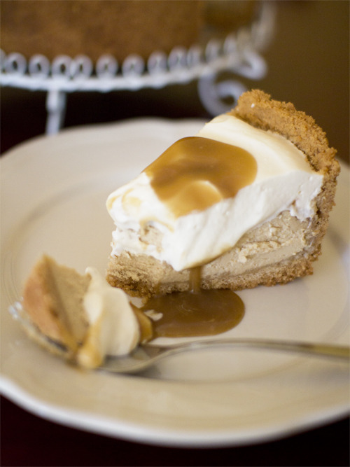 bakeddd:  salted caramel cheesecake click here for recipe