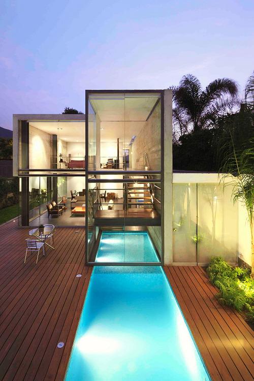 livingpursuit:  House in La Planicie | Source