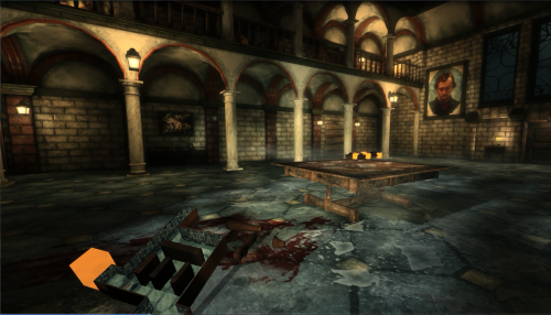Kraven Manor - Indie Adventure/Horror Game Kraven Manor is a first-person survival horror game with elements of puzzle-solving and exploration. The player faces a persistent antagonist that grows in confidence and power as the game progresses. The player must find miniature models of rooms that they can use to build onto an increasingly complicated model of the manor in the main entryway. As they add model rooms onto the model puzzle, the manor's rooms shift around to match the player-made layout of the manor. Download: http://www.indiedb.com/games/kraven-manor