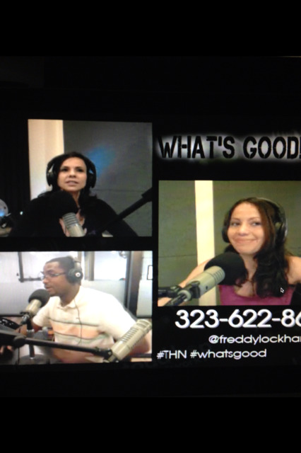 "Yesterday's episode of ""What's Good?!"" with special guest and co-creator of CREEPY CARESS, Brenda Colonna. And regs Chris Burns & Cassius Morris aka That Reporter Kid."