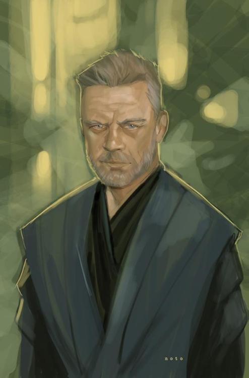 Cool Art Featuring Mark Hamill as Jedi Master Skywalker Joey Paur, geektyrant.com If Mark Hamill is going to be back to reprise his role in Star Wars: Episode VII, I imagine he's going to end up getting in shape. I don't know if you've seen him lately, but he doesn't look like a Jedi Master. If he does end up goin…