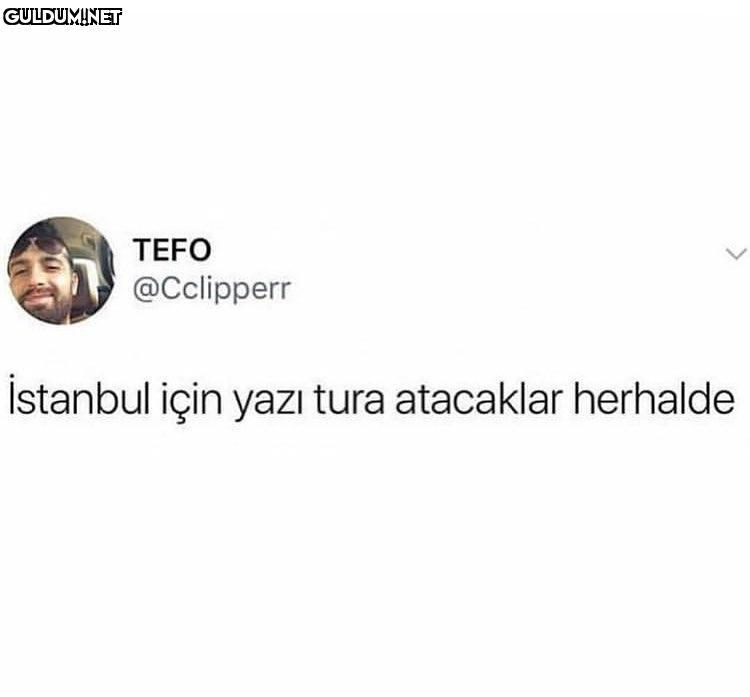 TEFO @Cclipperr Istanbul...