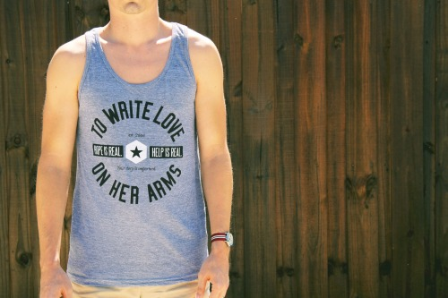 "twloha:  ""Central"" Tank Top now available in the TWLOHA Online Store."
