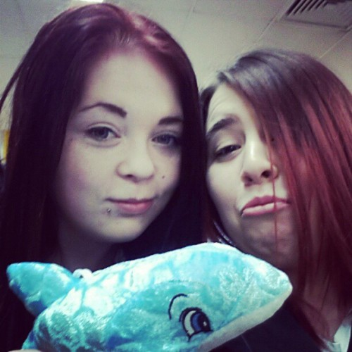 Awww mine and staceys adopted dolphin! :D