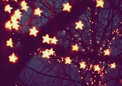 I want star Christmas lights.