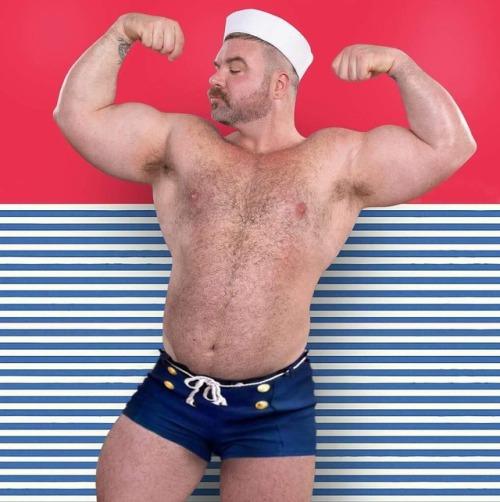 flexfriday Popeye biceps BLUTO