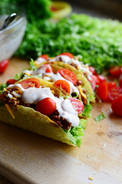 Salad Tacos — GET THE RECIPE —