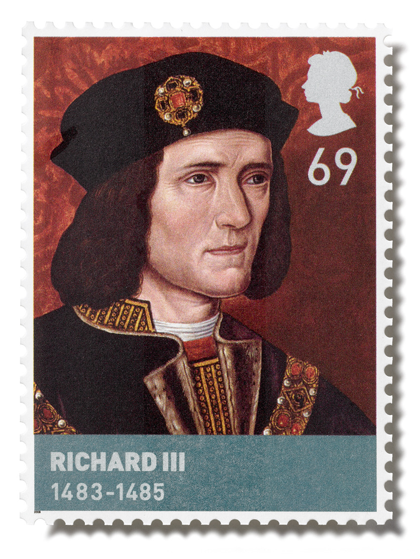 King Richard III found here: http://www.jonnorton.me/category/stamps/