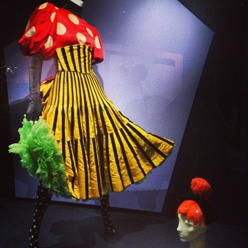 Can can dancer costume designed by Christian #Lacroix,  1988.