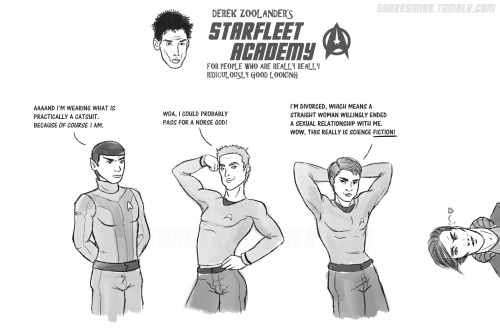sharksmirk:  I like both the old and new Star Trek, but damn, if that isn't the finest collection of lips this side of the galaxy :D *please full view*