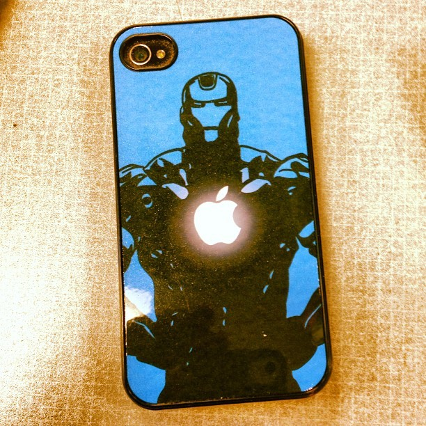 The coolest #iPhone case ever!  #marvel #ironman