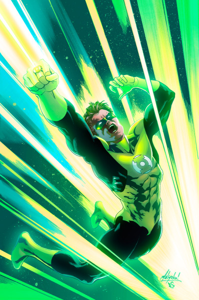 Green Lantern // artwork by Matt Haley and Eddy Swan (2012)