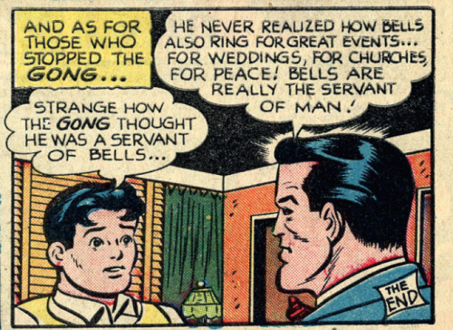 Bells are really the servant of man!