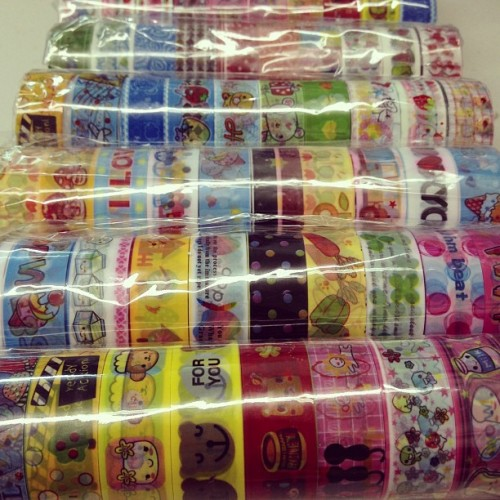 Cute packaging tape 2 for $1. Please come in and look.  (at VivisWORLD)