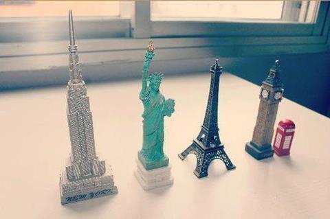 love cute london paris new york viajes