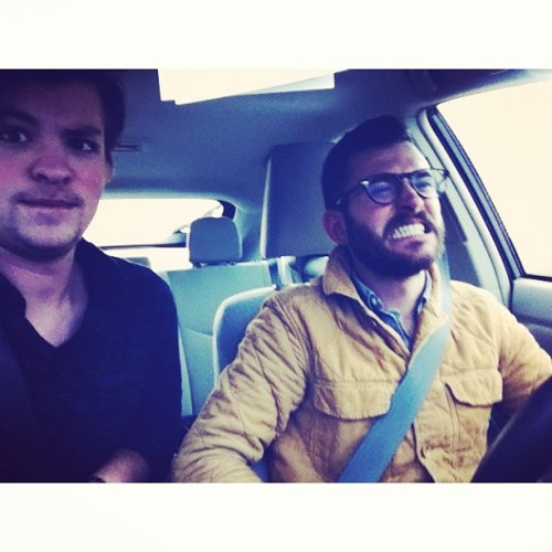 Road Trip to see Father John Misty with @nobledenim  (at Nowhere Ohio )