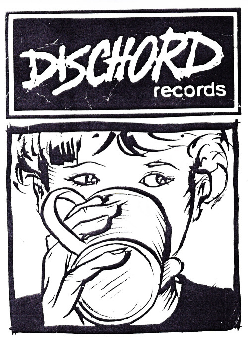 Huge fan of this Dischord coffee print. Came in the mail with a Make Up LP I ordered.
