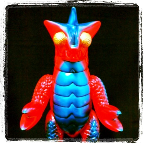 Bemon space monster #kaiju #toys #toy #bemon #space #monster #monsters #sofubi #vinyl #toypics #toystagram #Japan #colorful #alien #aliens
