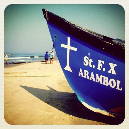 Arambol Beach - Goa, India (at Arambol Beach)