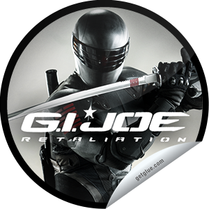 I just unlocked the G.I. Joe Retaliation Box Office sticker on GetGlue                      18724 others have also unlocked the G.I. Joe Retaliation Box Office sticker on GetGlue.com                  Thank you for seeing G.I. Joe Retaliation in theaters! We hope you enjoyed this action-packed movie.  Share this one proudly. It's from our friends at Paramount Pictures.