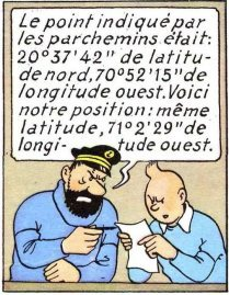 Tintin locates the Unicorn. Read the post on (e)space&fiction .