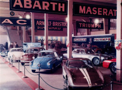 Fiat Abarth 1956 Factory Display at Geneva Motorshow of 1956
