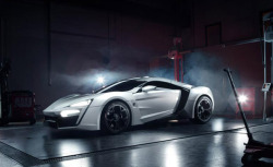 carpr0n:  Prince of Persia Starring: W-Motors Lykan Hypersport (via autoguide.com)
