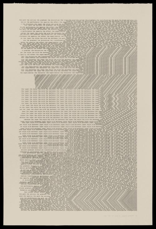 graphic graphic design art Typography typewriter print two areas 2017