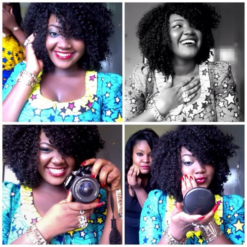 Smile. Fake laugh. Cheese📷. #mua pout. 😁#ankara