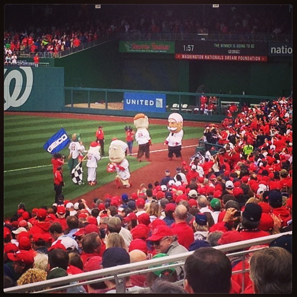 Tom with the win! @nationals @masnnationals #natitude #openingday
