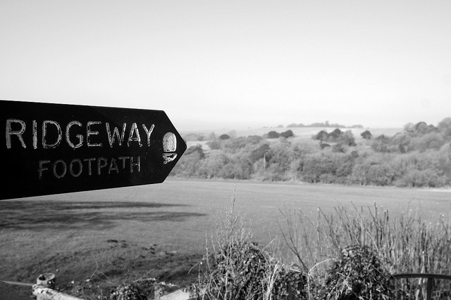 My way or the…… on Flickr.More hazy black and white landscape from earlier this week.