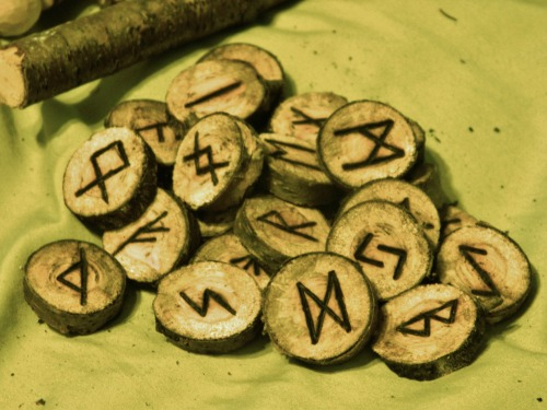 Natural Wood Runes SetMaking and selling these- $8 + $2 shipping in US (message if interested)24 in a set- The Elder FutharkHave a real nice, natural feel to themHandmade with love and good intentions- wood burnedWill be making embroidered handmade bags soon (as posted in post before this)
