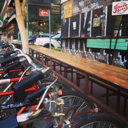 The closest #joburg gets to a #bicycle #sharing #system in the #maboneng #precinct #jozi #johannesburg #igersjozi  (at The Maboneng Precinct)