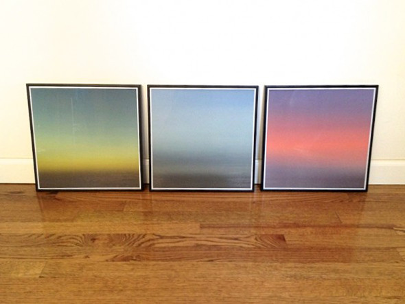 Relocation.Triptych: Edition #1 Framed by Owner
