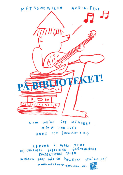 For those of you who are in Oslo, there is a party at the library!