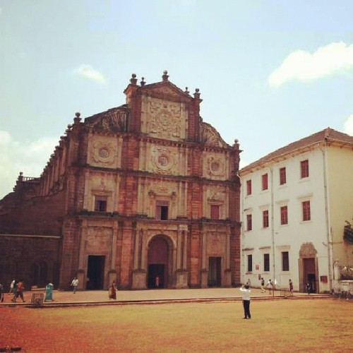 St. Francis Xavier Church. (at St Francis Residence,old goa)