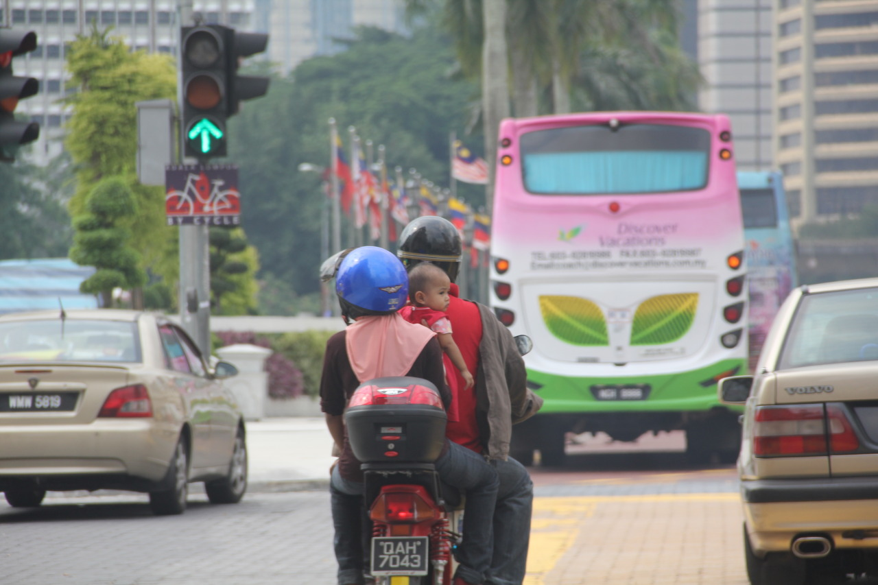 malaysia, baby, scooter, fun, sandwich, ride, parenting