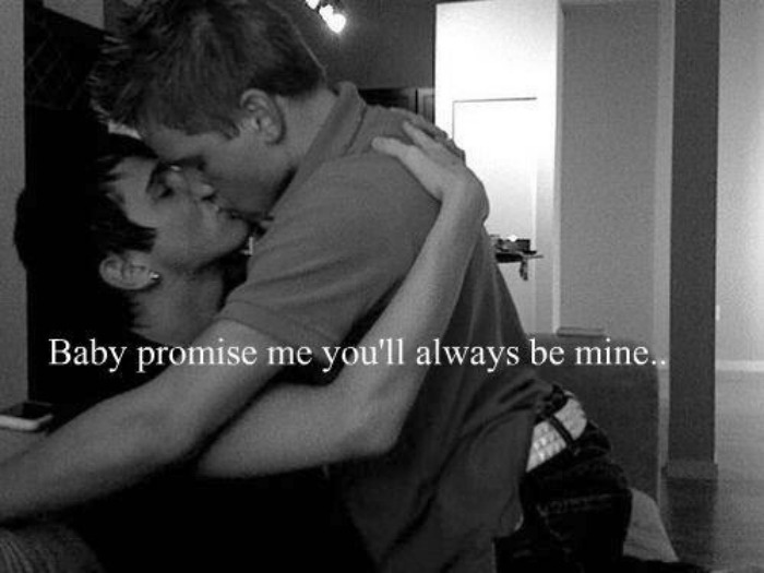 kevinalmns:  You'll always be mine  @richiegw Te amo bebe!!! :3 <3