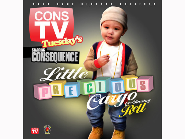 Love &  Hip Hop star Consequence penned a track for his and Jen the Pen's son, Caiden. One, two, three — AWW!