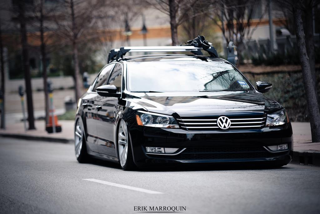 itstanced:  New Passat looks great on the ground.